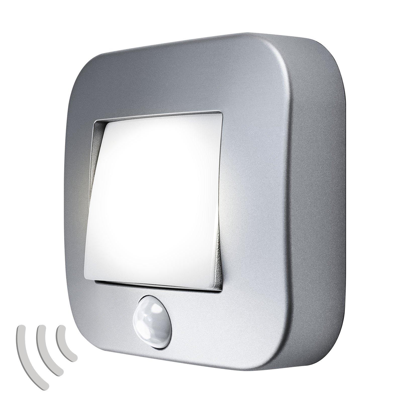 LEDVANCE Nightlux Hall nattlys sensor sølv