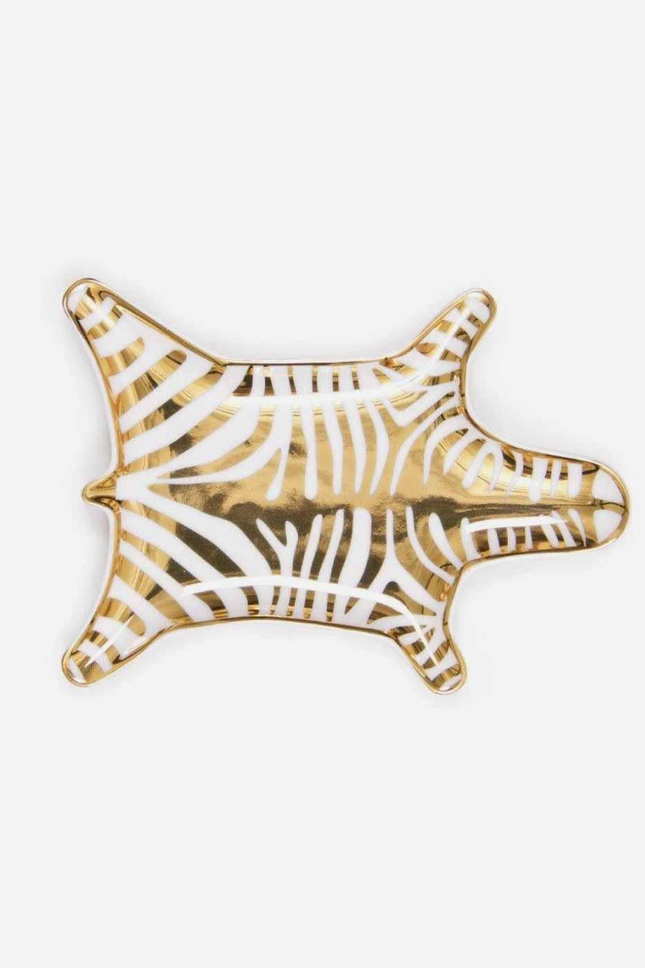 Fat Zebra 15 cm guld