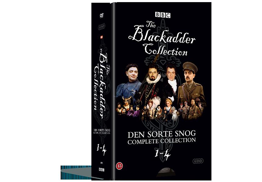 Black Adder - Den Sorte Snog Complete Coll. - DVD