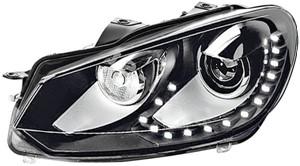 Ajovalo, Oikea, VW GOLF VI, GOLF Cabriolet VI, GOLF Variant VI, 5K1 941 752D, 5K1 941 754E