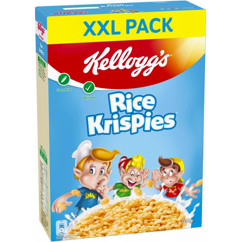 """Flingor """"Rice Krispies XXL"""" 700g - 42% rabatt"""