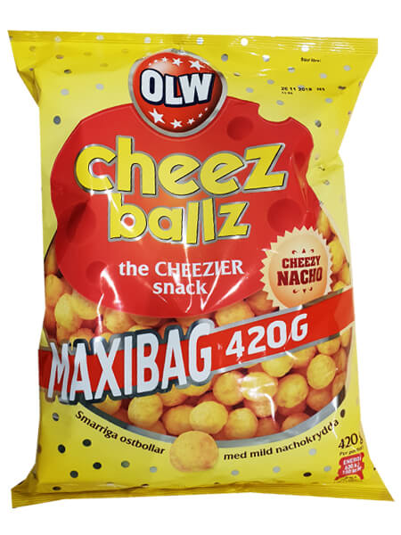 MAXIBAG - Cheez Balls 420g