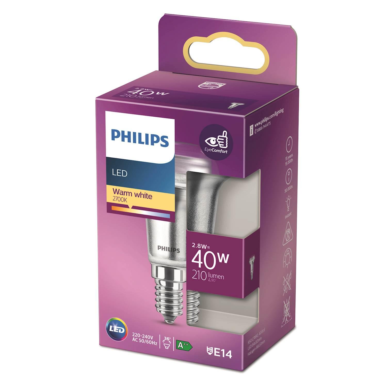 Philips LED Classic 40w refl e14 nd