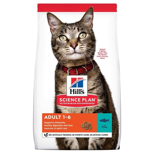 Hill's Science Plan Cat Adult Tuna (10 kg)