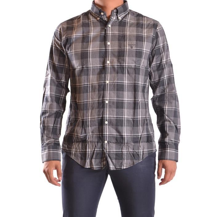 Gant Men's Shirt Grey 161053 - grey L