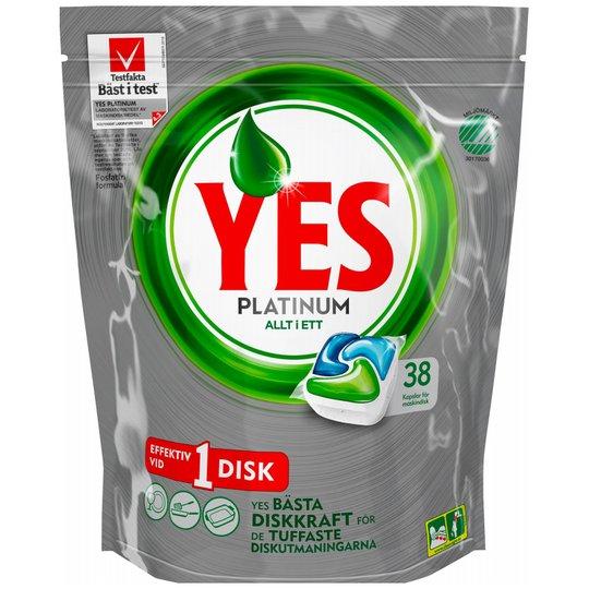 "Astianpesutabletit ""Platinum"" 38 kpl - 60% alennus"