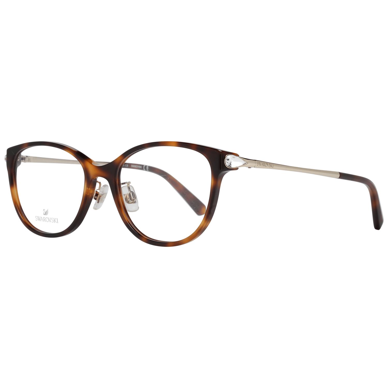 Swarovski Women's Optical Frames Eyewear Brown SK5354-D 54052