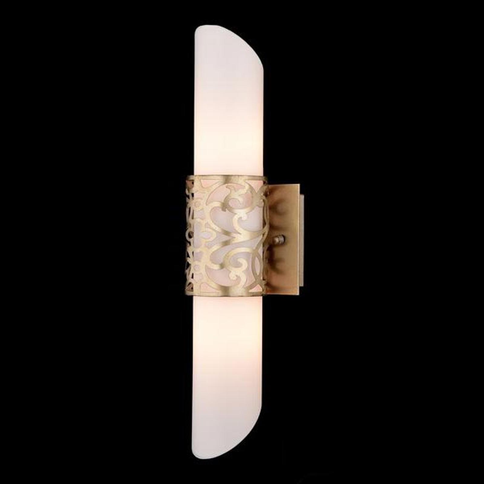 Putkimainen Venera-lasiseinävalaisin - kulta