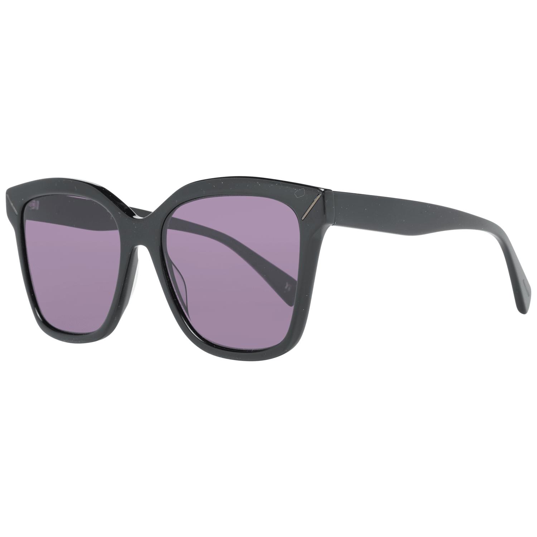 Yohji Yamamoto Women's Sunglasses Black YS5002 55001