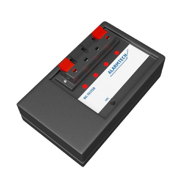 Alarmtech MC-Tester MC-testeri akulla