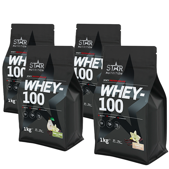Whey-100 Mix&Match 4x1 kg