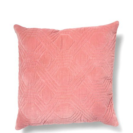 Geometric dusty pink pute 50x50