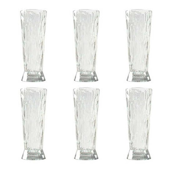 Koziol - Koziol Club No. 11 Veteölglas 50 cl 6-pack Crystal Clear