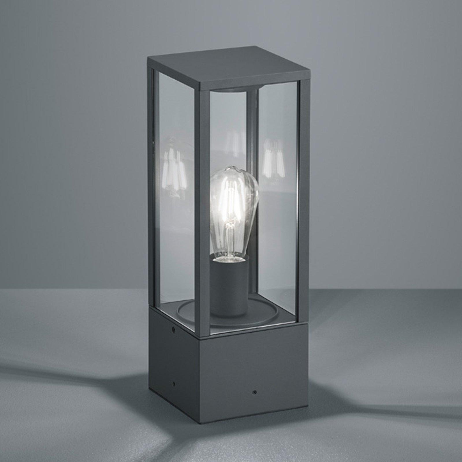 Sokkellampe Garonne i antrasitt