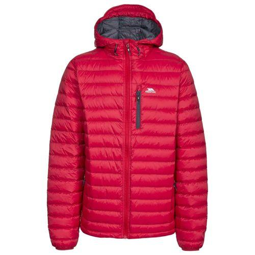 Trespass Unisex Packaway Down Jacket Various Colours Digby - Red XL