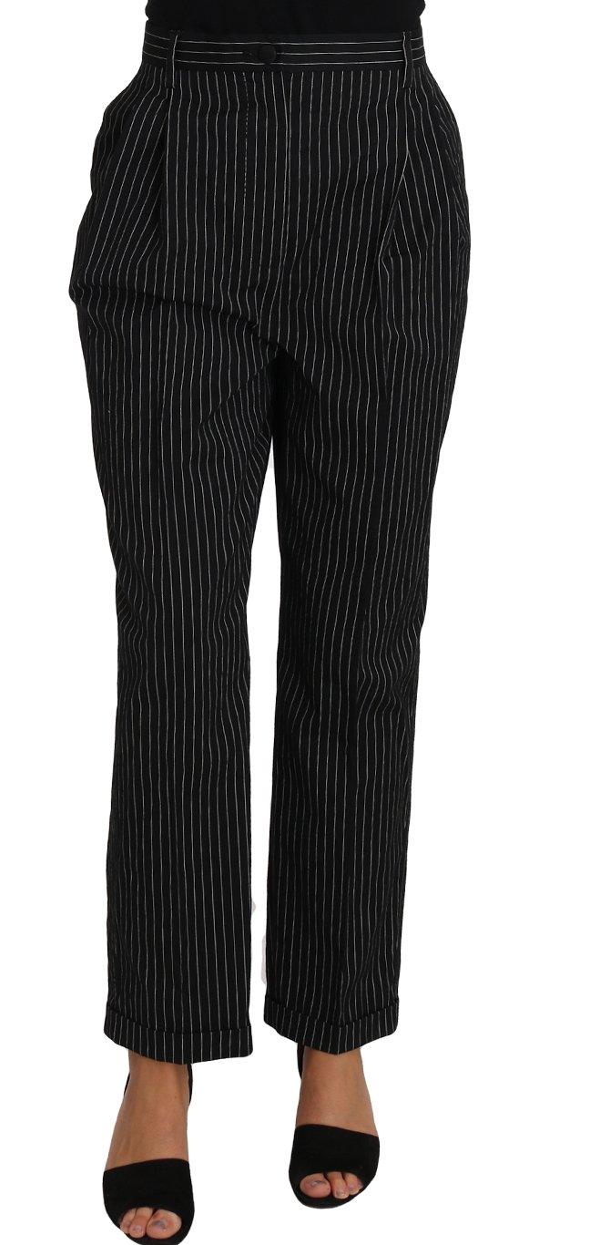 Dolce & Gabbana Women's Trouser Black PAN61085 - IT46   L