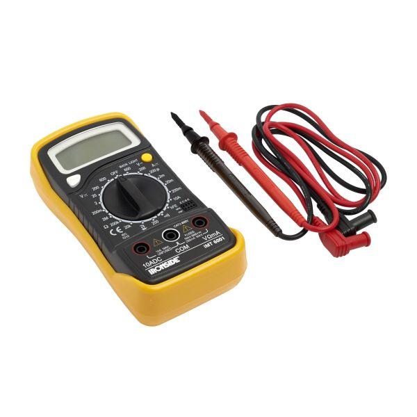 Ironside IMT6001 Multimeter med 9 V batteri