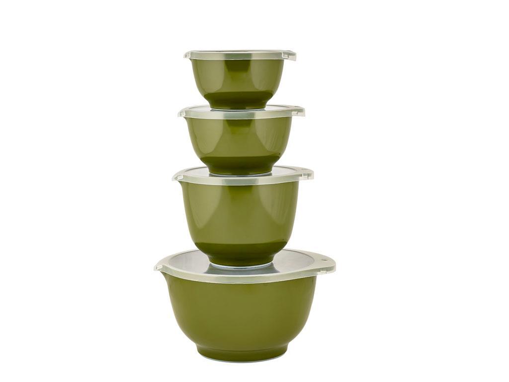 Rosti - Margrethe Bowls Set Of 4 Large - Oliven (11656)