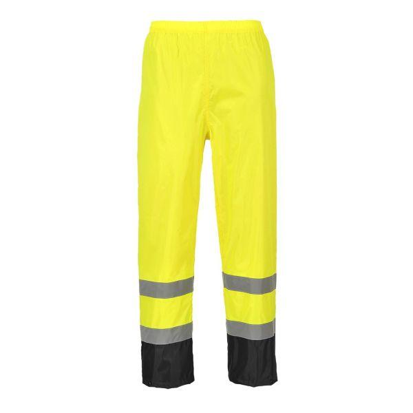 Portwest H444 Regnbyxa Hi-Vis gul/svart S