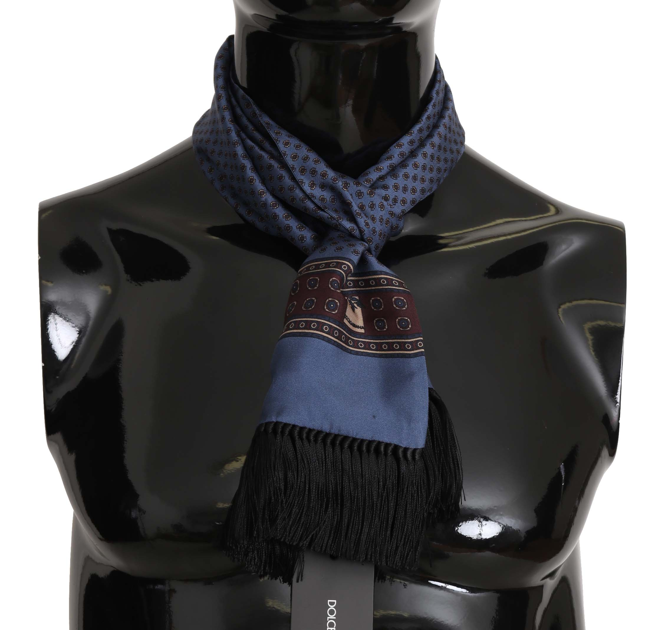 Dolce & Gabbana Men's Scarf Blue MS5136