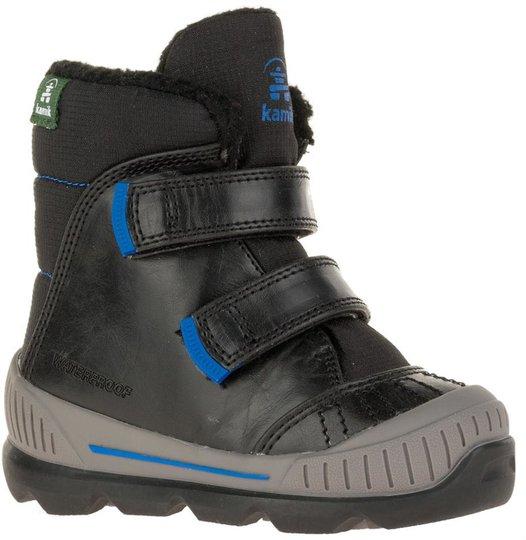 Kamik Parker Sko, Black/Blue 22