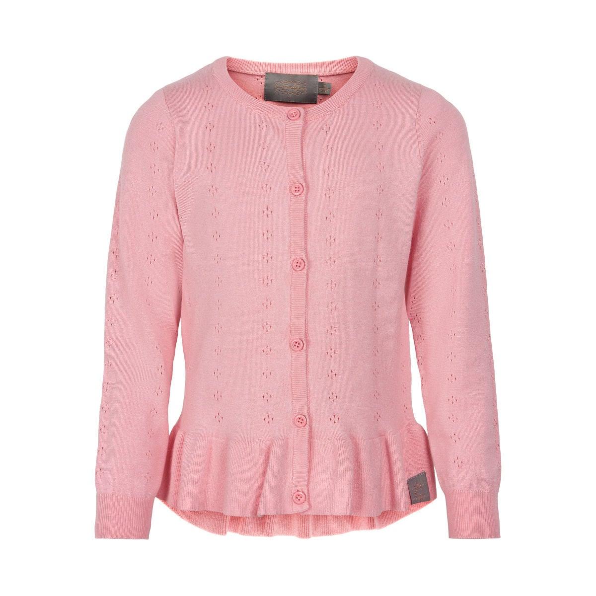 Creamie Pointelle Kofta, Pink Icing, 152