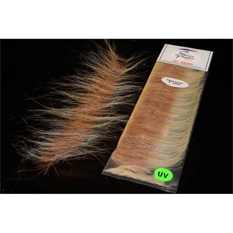 EP Craft Fur Brush Sand/Brown Enrico Puglisi