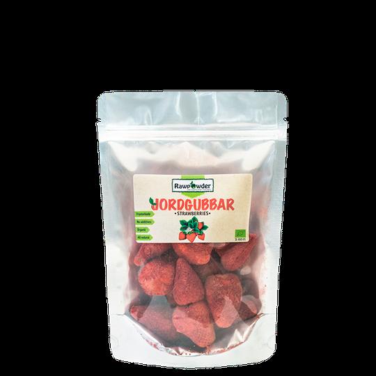 Frystorkade Jordgubbar, 50 g