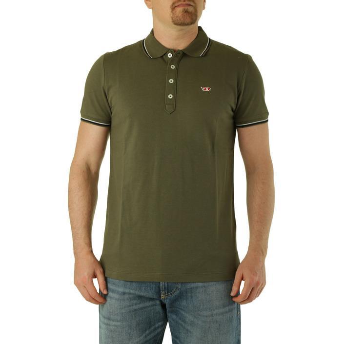 Diesel Men's Polo Shirt Green 283817 - green L