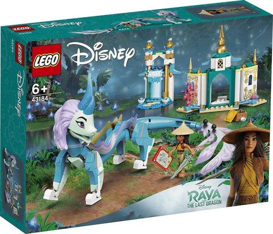 LEGO Disney Princess 43184 Raya og Dragen Sisu