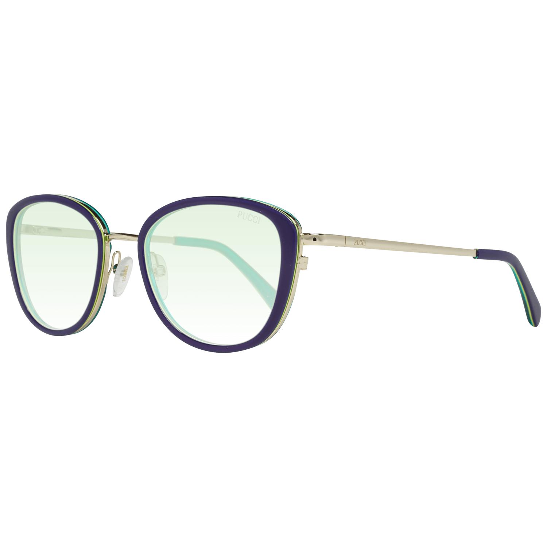 Emilio Pucci Women's Sunglasses Blue EP0047-O 5292P