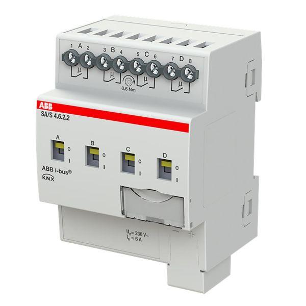 ABB 2CDG110254R0011 Tulo-/lähtöyksikkö KNX, 230 V, 6 A Kytkinliitäntöjen enimmäismäärä: 4
