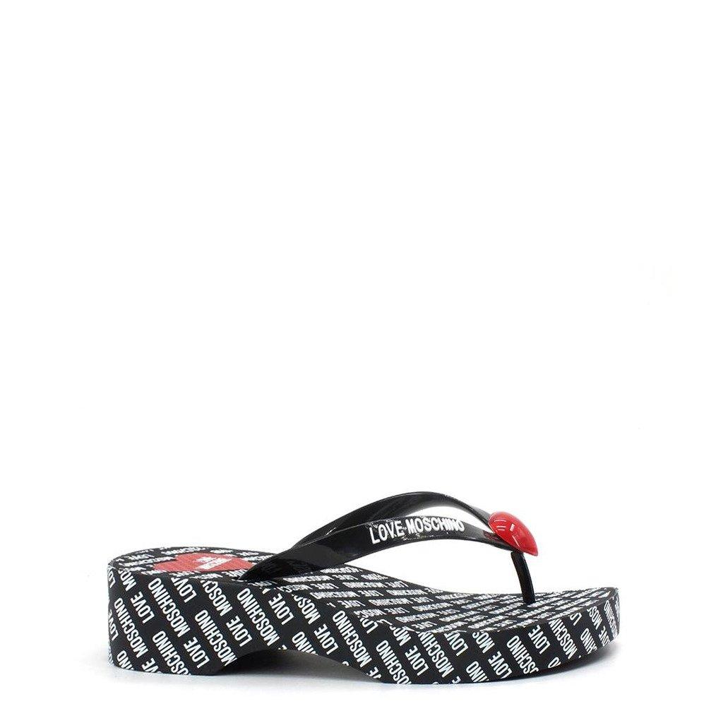 Love Moschino Women's Flip Flop Various Colours JA28174G0CJT0 - black EU 35