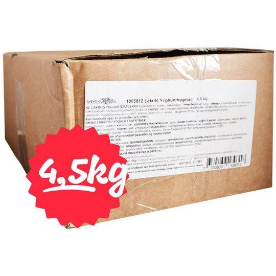 Hel Låda Lakrits Yoghurtdragerad 4,5kg - 79% rabatt
