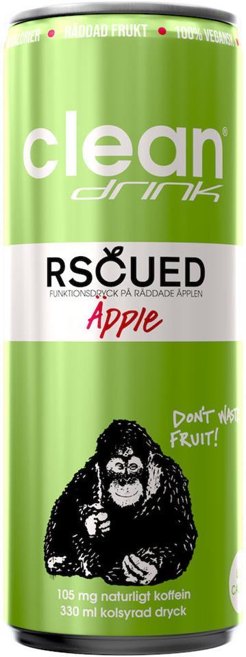 Rscued by Clean - Äpple 330ml