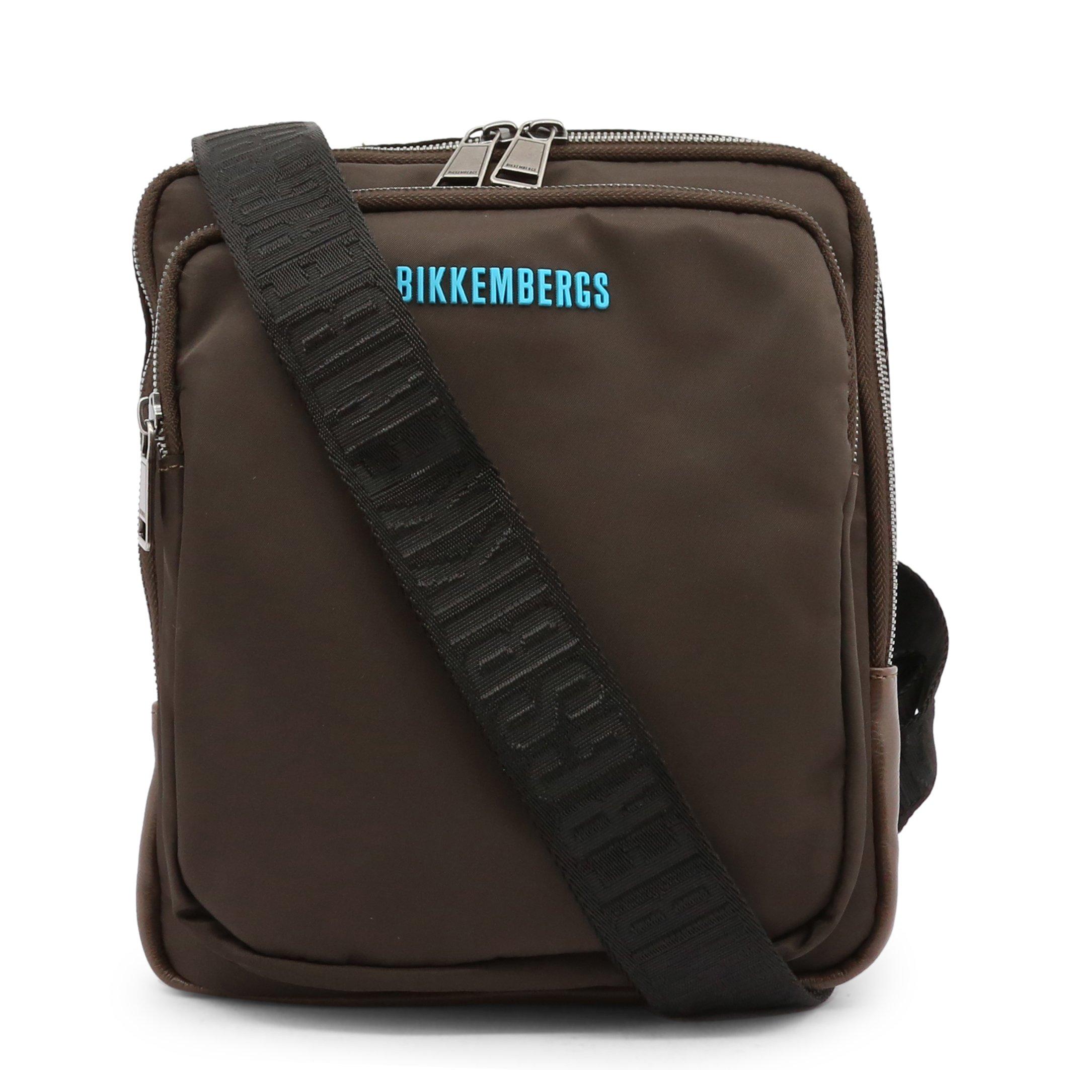Bikkembergs Men's Crossbody Bag Various Colours E2BPME1Q0012 - brown NOSIZE