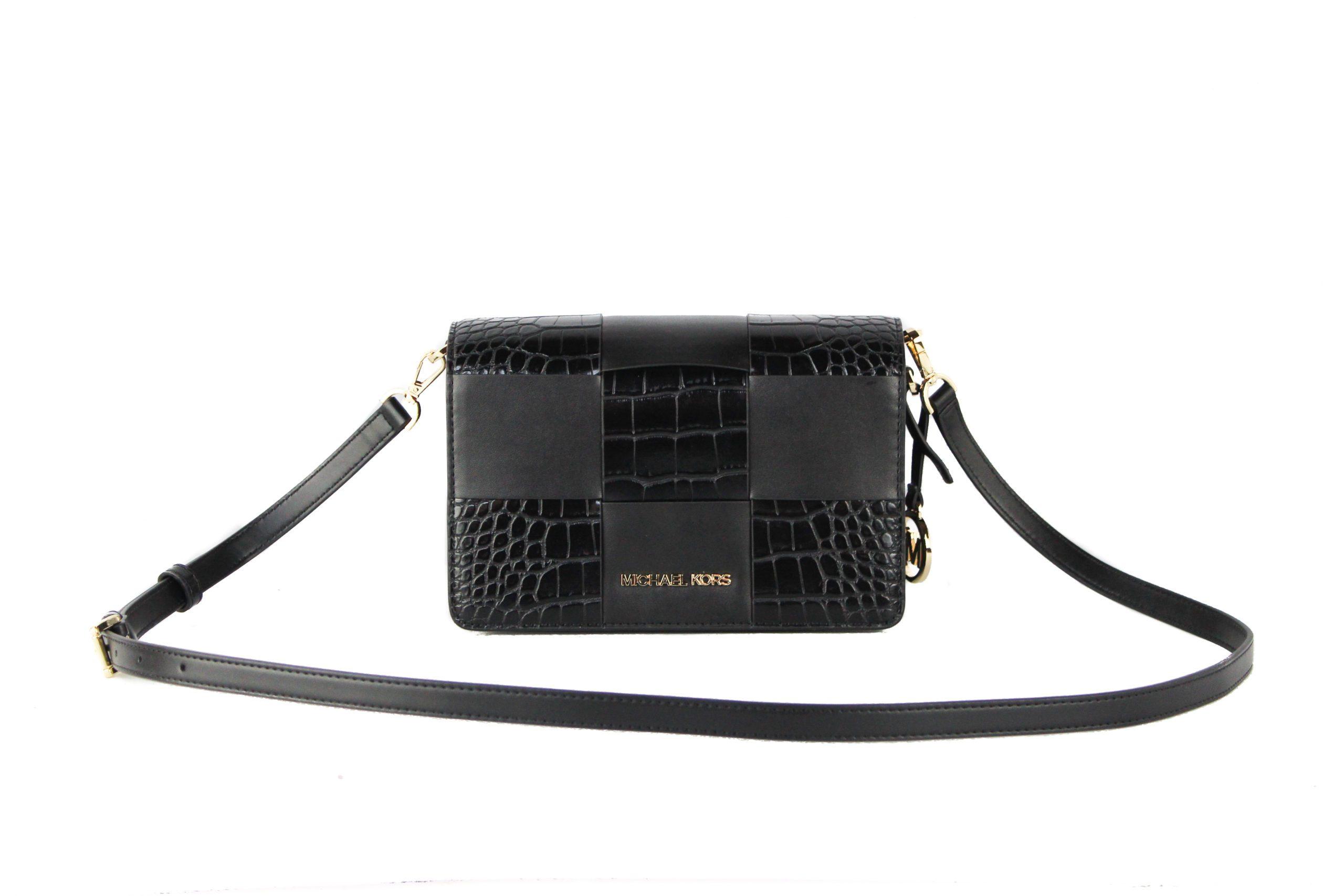 Michael Kors Women's Mercer Crossbody Bag Black 87075