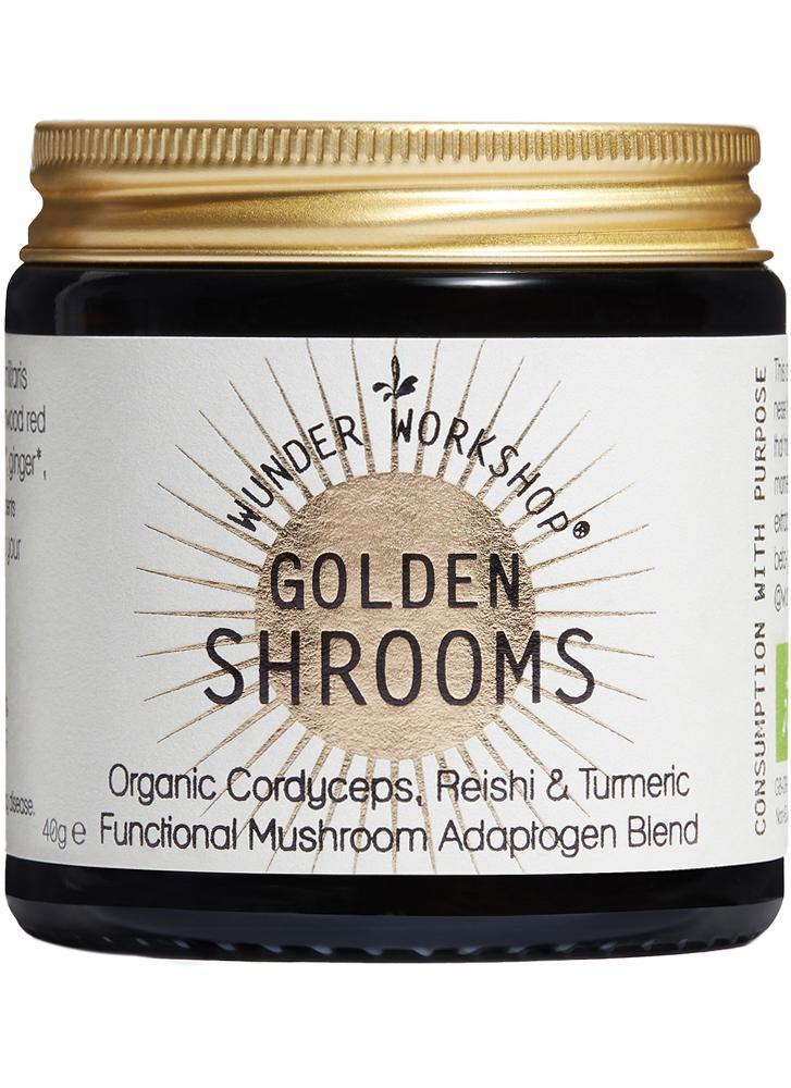 Wunder Workshop Golden Shrooms Energy & Immune Magic