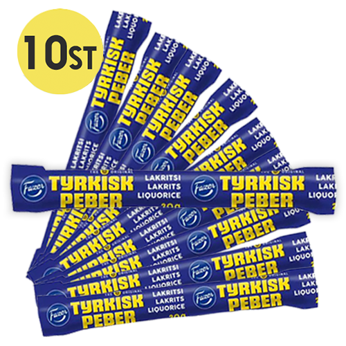 10st - Tyrkisk Peber Stänger 20g