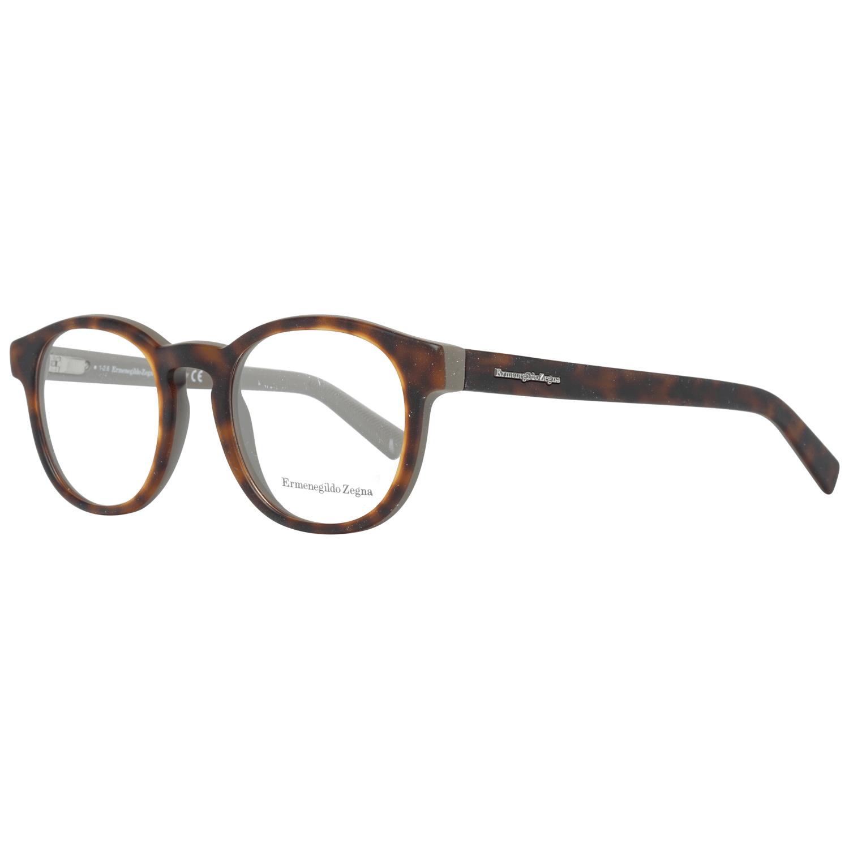 Ermenegildo Zegna Men's Optical Frames Eyewear Brown EZ5104 50B56