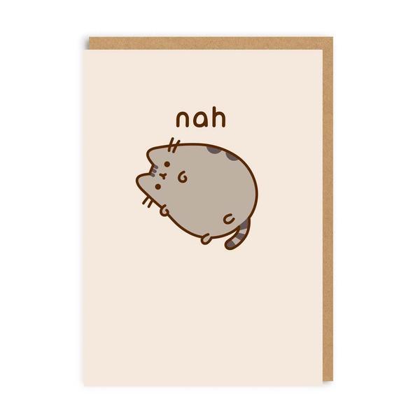 Pusheen Nah Greeting Card