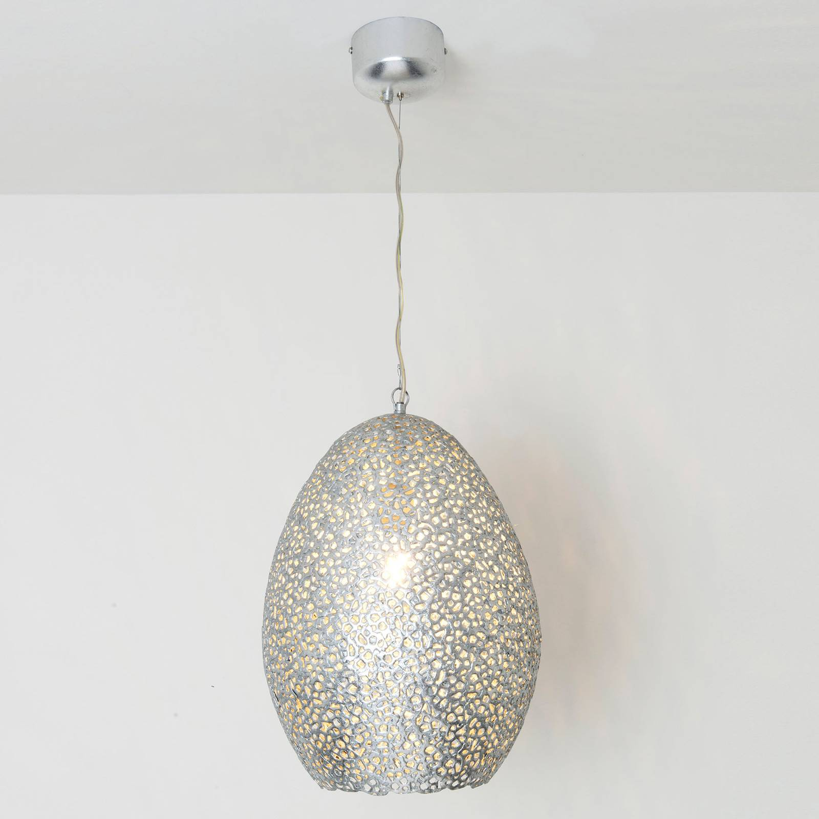 Riippuvalo Cavalliere, hopea, Ø 34 cm
