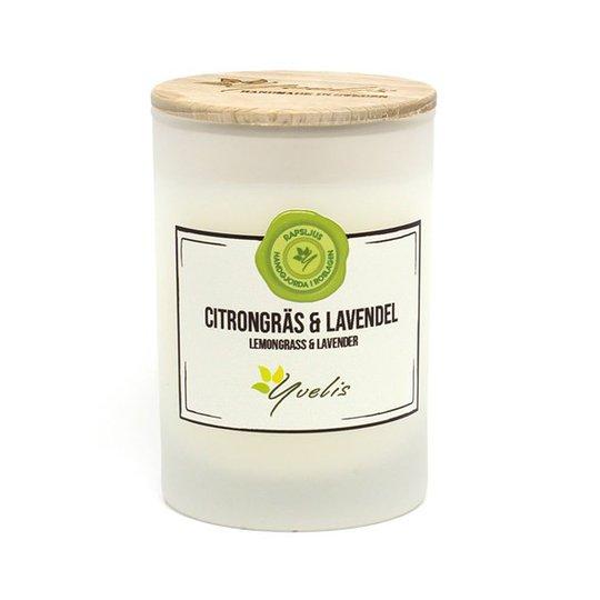 Yvelis Miljövänligt Doftljus Citrongräs & Lavendel
