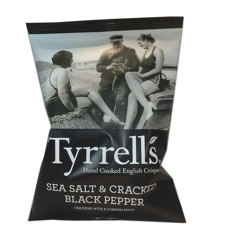 Chips Sea Salt & Cracked Black Pepper - 80% rabatt