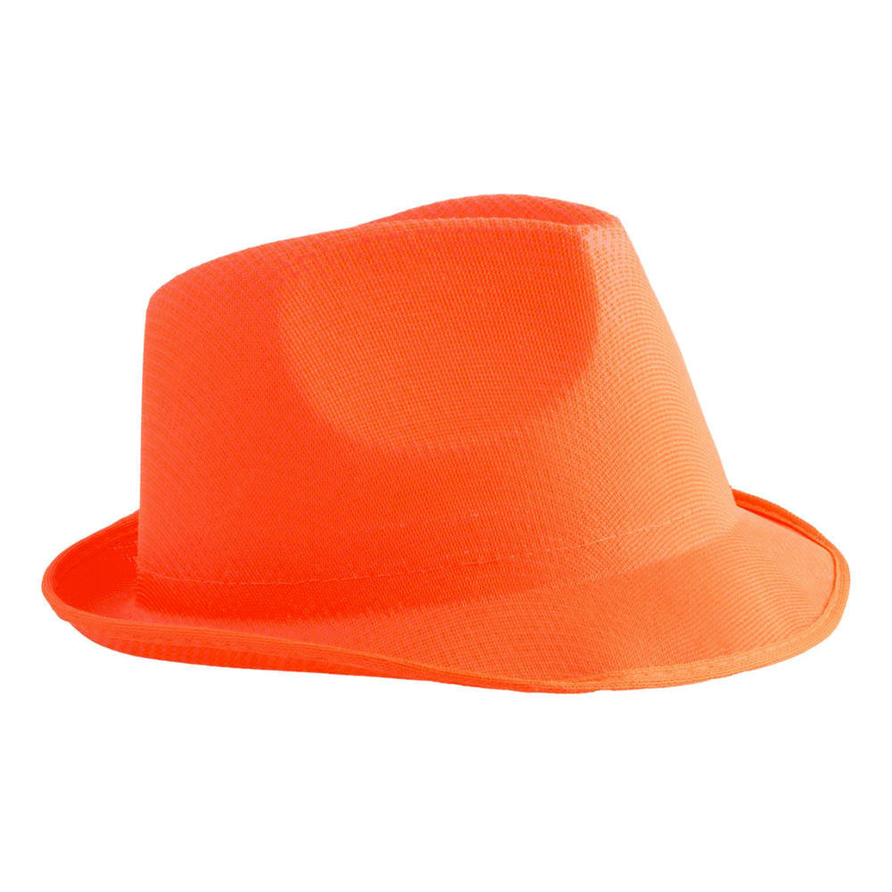 UV Neon Orange Hatt - One size