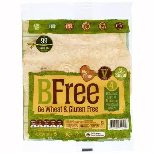 Wraps Fullkorn Glutenfria 4 x 42g - 51% rabatt