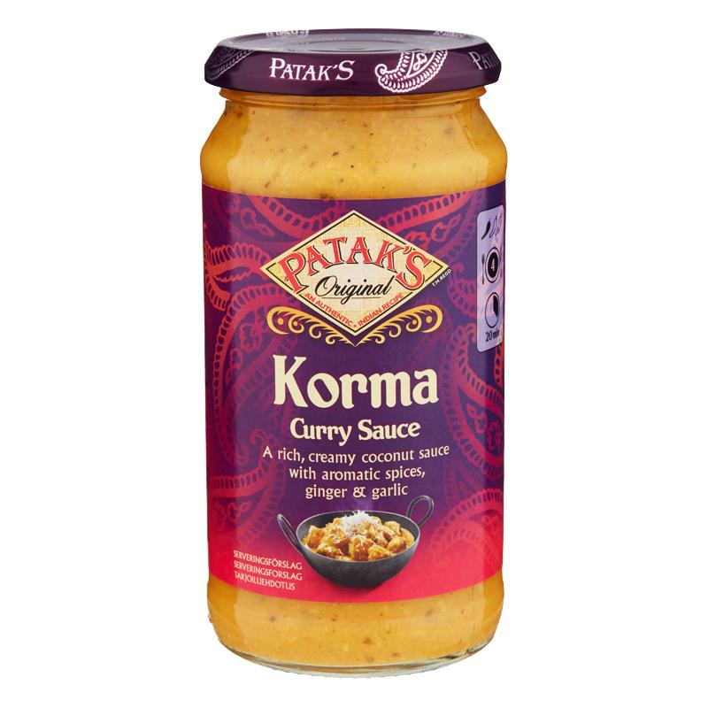 "Currysås ""Korma"" 500g - 41% rabatt"