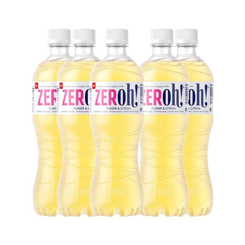 Saft Fläder & Citron Sockerfri 6-pack - 78% rabatt