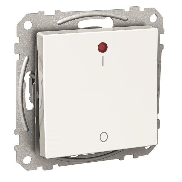 Schneider Electric Exxact Ohjauskytkin punainen LED-merkkivalo, IP21 2-napainen vaihtokytkin