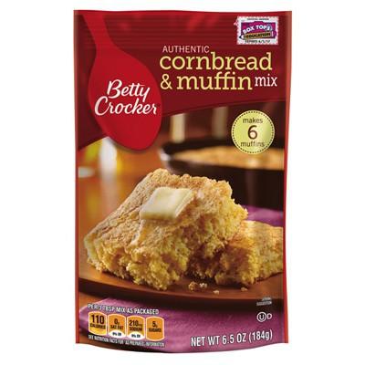Betty Crocker Cornbread & Muffing Mix 187g